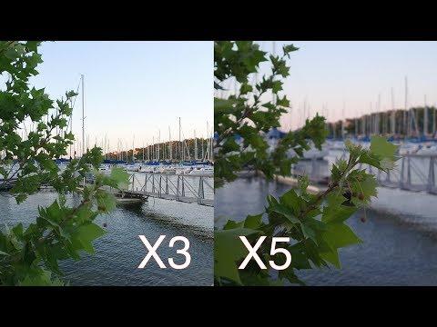 DJI OSMO X3 vs X5 Comparison!