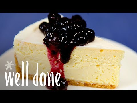 How To Make The Cheesecake Factory Original Cheesecake | Recipe | Well Done