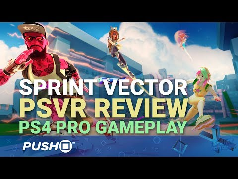 Sprint Vector PSVR Gameplay Footage: Review and Impressions | PlayStation VR | PS4 Pro