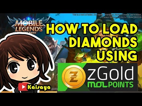 How to Load Diamonds using zGold MOL Points - Load Central - Mobile Legends: Bang Bang