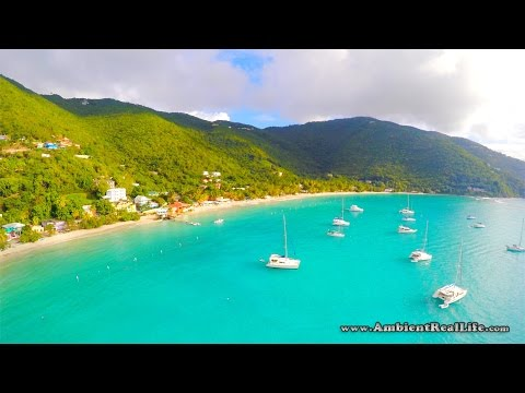 Welcome to Cane Garden Bay, in the British Virgin Islands!  (BVI)  CARIBBEAN