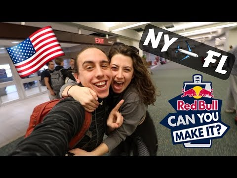RED BULL FLEW ME TO FLORIDA FOR THIS! - NY to FL travel vlog RBCYMI18