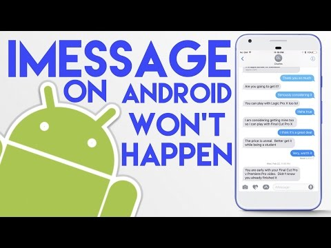 Why Apple won't put iMessage on Android