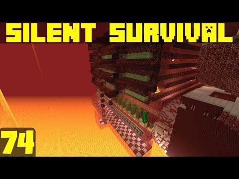 Silent Survival Ep74 Wither Ripper 3000! Minecraft Vanilla Survival