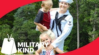 Military mom pulls of magical homecoming