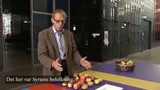 Hans Rosling forklarer flygtningestrøm med æbler - DR Nyheder