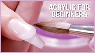 Download 💅🏼Acrylic Nail Tutorial - How To Apply Acrylic For Beginners 🎉📚 Video