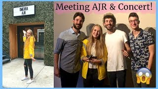 AJR | MEETING THEM AND CONCERT {London 23/09/17}
