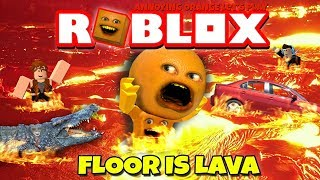 Annoying Orange Plays - Roblox: The Floor Is Lava!