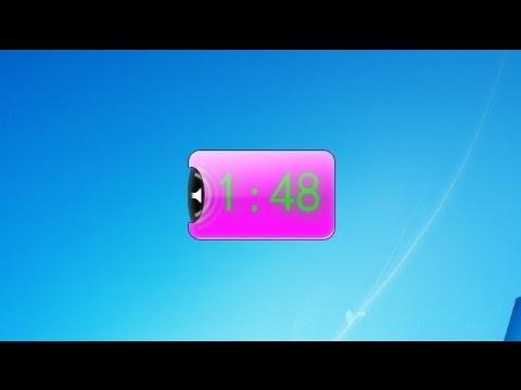 Talking Clock Windows 7 Desktop Gadget