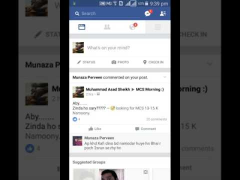 How To Unblock Someone Using Facebook Android App