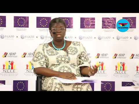 Education will help fight corruption - Dr Mercy Akrofi Ansah