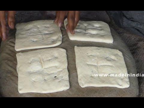 #Square Naan making | #World Famous Hyderabadi Muslim Naan | streetfood street food