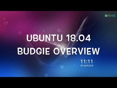 Ubuntu 18.04 Budgie Desktop Tour [It's Elegant]