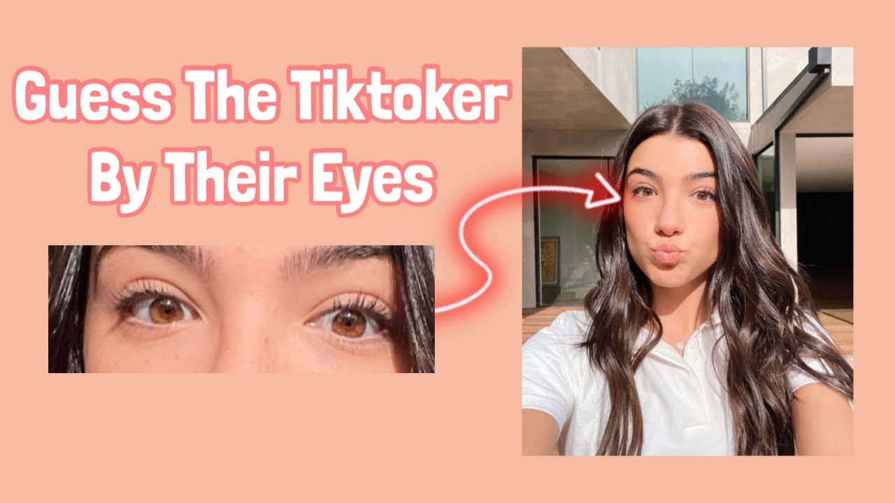 Guess The Tiktokers By Their Eyes **Part-2**