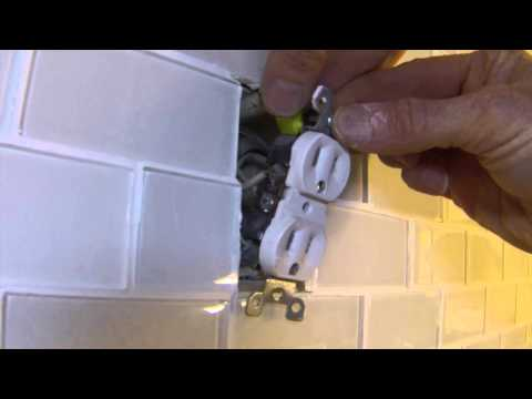 How To Extend Electrical Outlets Over Tile