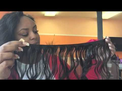Weave install  using Brazilian body wave from