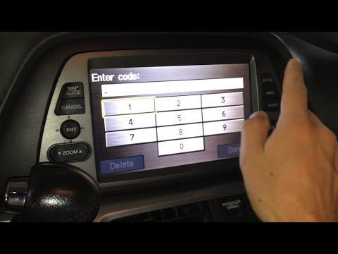 Honda Navigation Code Retrieval and Reset Instructions