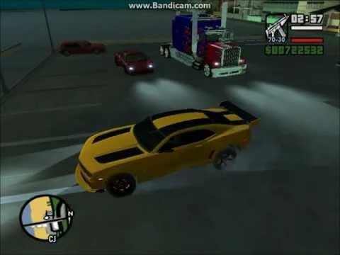 GTA San Andreas Transformers mod