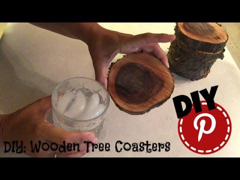 DIY: Wooden Tree Coasters - 3 Easy Steps