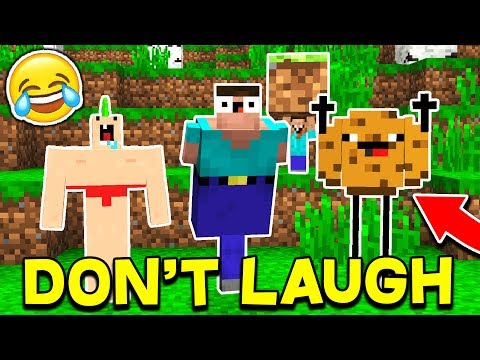 BEST TRY NOT LAUGH CHALLENGE... WITH UNSPEAKABLEGAMING & MOOSECRAFT! (Minecraft Edition)