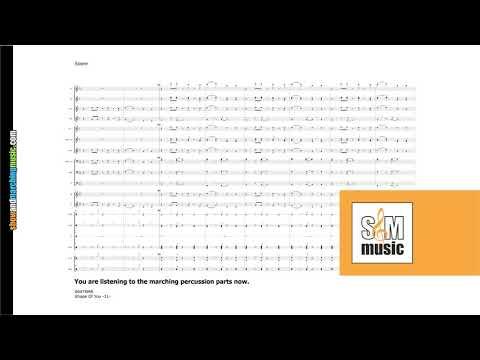 Shape Of You | Ed Sheeran | Compact (Marching) Band