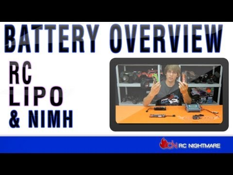 RC Battery Overview-Lipo & Nimh