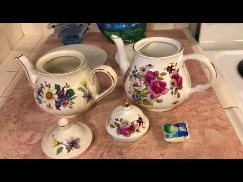 How to Clean Your Teapots like brand NEW!