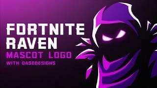 Speed Art Of The Free Fortnite Youtube Banner Raven Skin