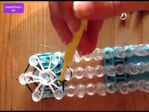 Loom band Starburst ring tutorial