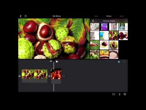 iPad Classroom Tutorial - iMovie Part 1 Making Movies