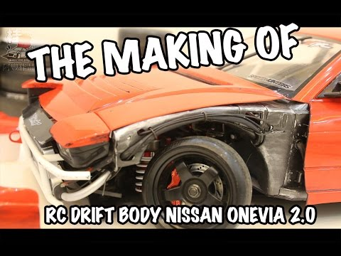 The Making of RC Drift Car Body Nissan Onevia 2.0