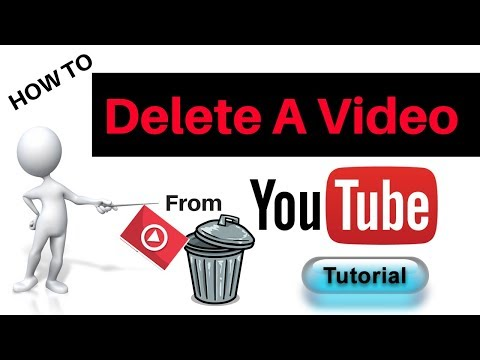 How To Delete YouTube Videos From Your Channel 2018