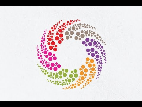 Adobe illustrator Logo Design Tutorial | How to Make a Circle Logo Design | The Best Logo Tutorial