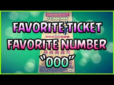 BIG TICKET SATURDAY!! (1) $20 Monopoly - Florida Lottery Scratchers