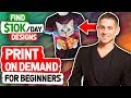 eCommerce Print On Demand For Beginners | How to Find $10k Designs (HACKS)