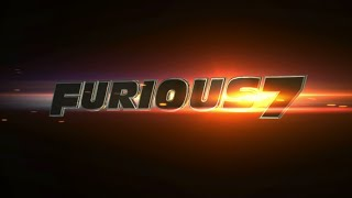 Fast & Furious 7 Logo in After Effects