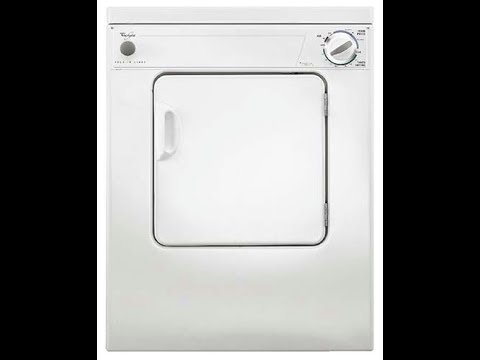 Whirlpool LDR3822PQ1 120V Compact Portable Clothes Tumble Dryer