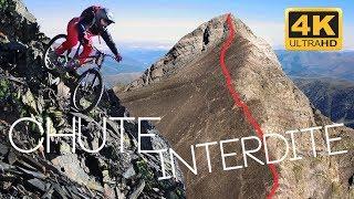 CHUTE INTERDITE – Pic d'Aret à VTT, une première !