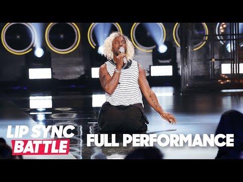 "Christina Aguilera Swoons Over Taye Diggs' ""Beautiful"" | Lip Sync Battle"