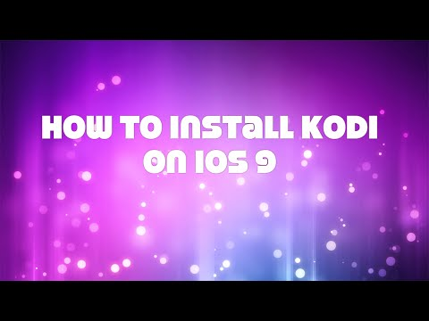 How to install XBMC/Kodi on any iPhone/iPad/iPod with iOS 8 or 9 without jailbreak