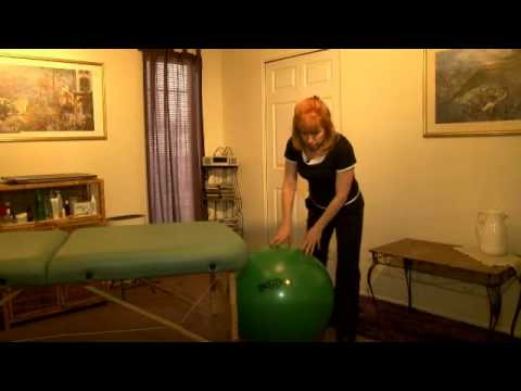 Kinessage® Therapist Self Care Tip  Choose the Right Size Exercise Ball