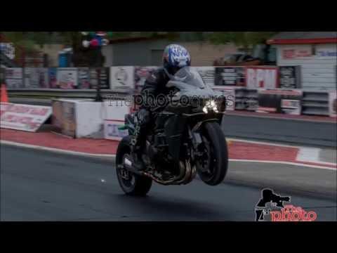 Worlds Fastest Kawasaki Ninja H2 In The 1/4 Mile