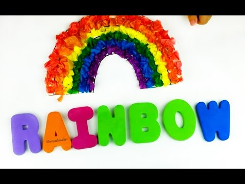 Let's make many words with colorful ABCS. The alphabets from M to S. LET'S PLAY KIDS. PART 2