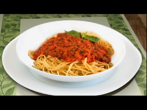 Meatless Meat Sauce Video Recipe | No Meat Meat Sauce by Bhavna