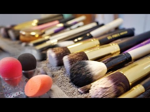MOST AFFORDABLE WAY TO CLEAN MAKEUP BRUSHES | SANITISE BEAUTY BLENDER | BY AARTI JOVEL