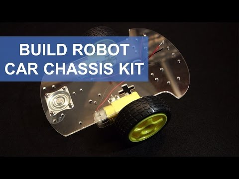 Build Robot Car Chassis Kit