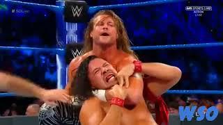 Dolph Ziggler Vs. Shinsuke Nakamura Highlights   Smackdown 6-20-17