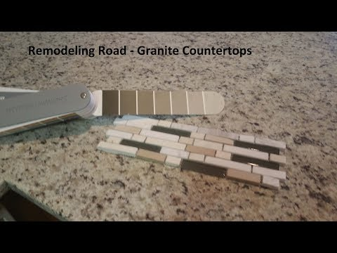 Remodeling Road  - Granite Countertops