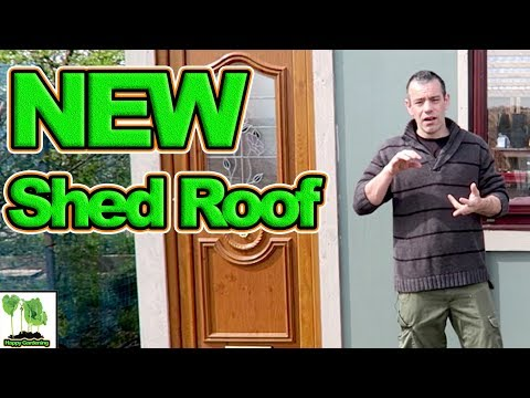 How To Replace A Garden Shed Roof